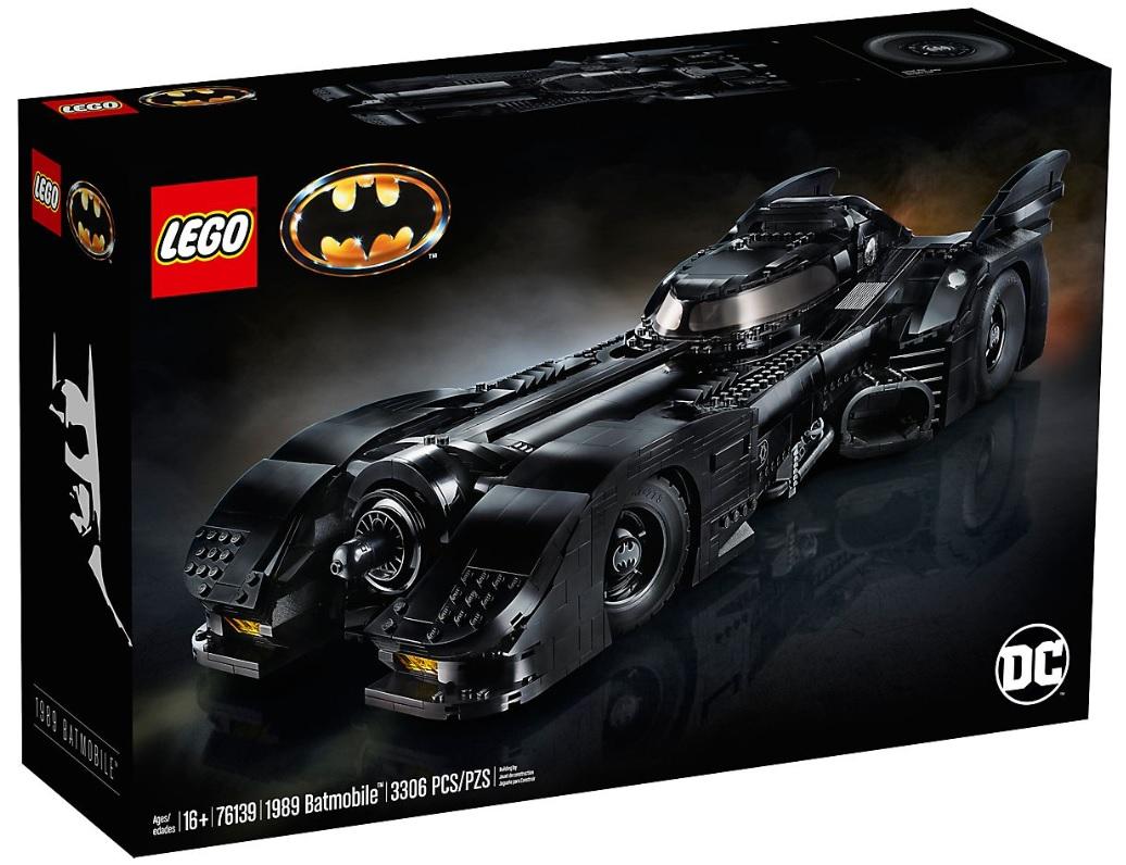 LEGO 76139 1989 Batmobile Top Popular Set for Adults 18+