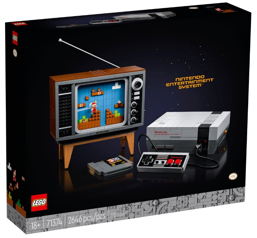 LEGO 71374 Nintendo Entertainment System Top Popular Set for Adults 18+