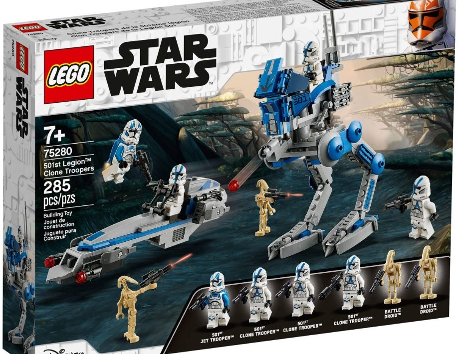 Lego star wars clone trooper 501st battle pack and Mandolorian Battle Pack