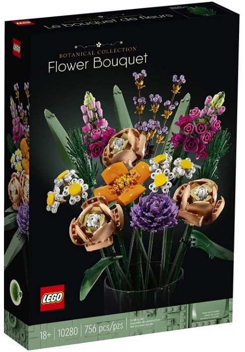 2021 January 18 Lego Bonsai Tree And Lego Flower Bouquet 10281 10280 Pre Order Now At Amazon Canada Toys N Bricks