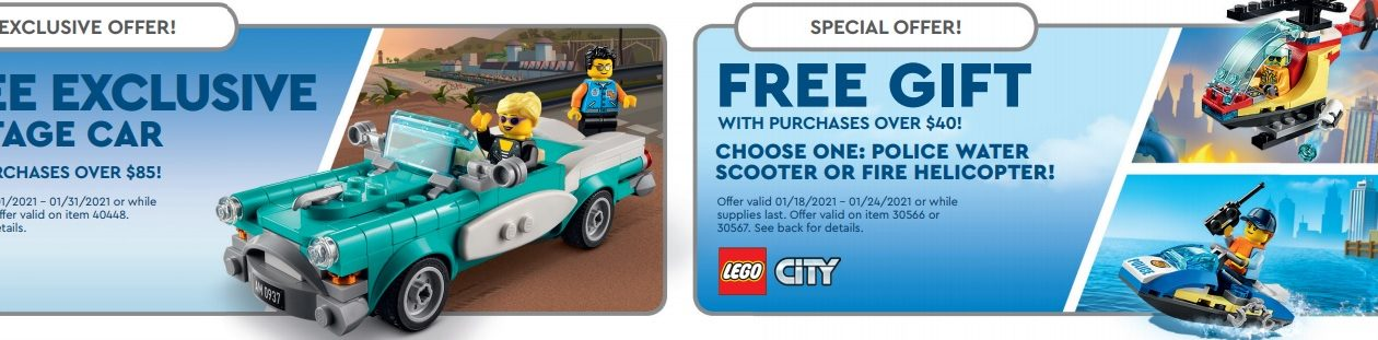 Lego Calendar April 2021 January 2021 LEGO Store Calendar & Promotions – Toys N Bricks