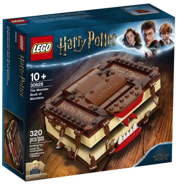 LEGO Harry Potter 30628 Monster Book of Monsters Promotional Gift Offer Deal USA January 2021