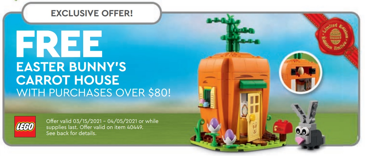 LEGO Store Calendar Offers & Promotions March 2021 – Toys N Bricks