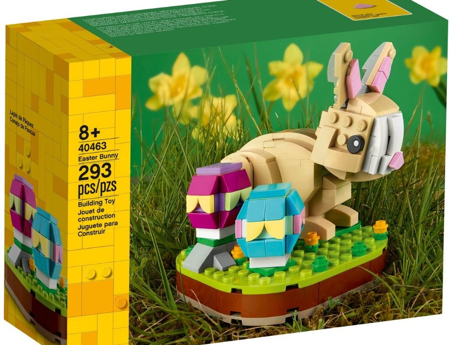 LEGO 40463 Easter Bunny 2021 Set Images Box Front